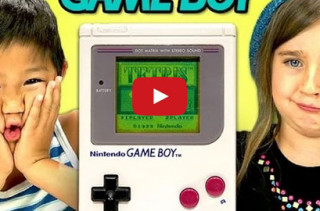 Kids Being Introduced To A Gameboy Will Make You Feel Old