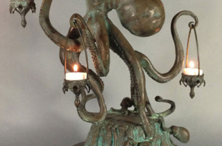 This Octopus Candle Holder Is Bad To The Ass