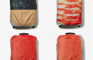 Your Suitcase Smells… Fishy: Sushi Luggage Covers