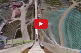 Get A First Person POV Down The World's Tallest Water Slide