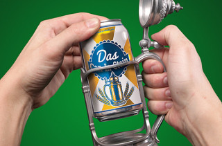 Turn Any Can Into A Beer Stein With Das Can-In-Stein