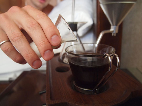This Alarm Clock Wakes You Up With A Cup Of Coffee Incredible Things