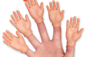 Finger Hands Are Creepy, Make It Stop