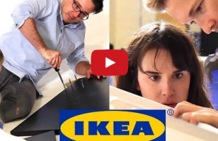 Couples Race To Build An Ikea Desk, Love Is Tested