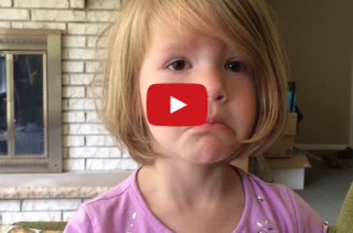 Little Girl Learns Deleted Photos Are Gone Forever