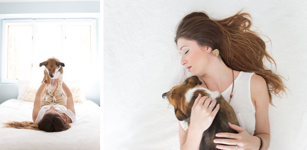 Hilarious Newborn Shoot Stars A Dog Instead Of Baby