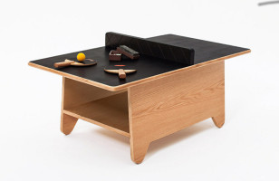 Ping-Pong Coffee Table Could Be Fun, Could End Badly
