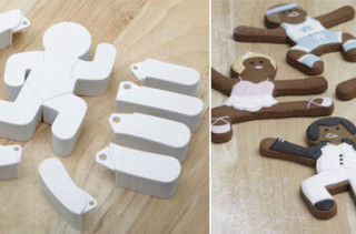 Think Of The Possibilities!: Posable Gingerbread Cookie Cutters
