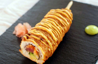 Dear Spicy Tuna Roll Corn Dog, Get In My Mouth