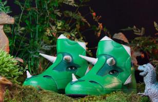 Tricera Hi-Tops: Cool Prehistoric Footwear