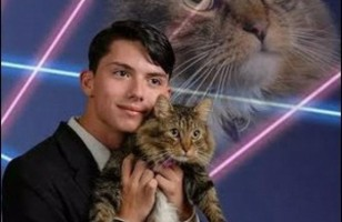 Teen Petitions To Use His Cat Photo In Yearbook