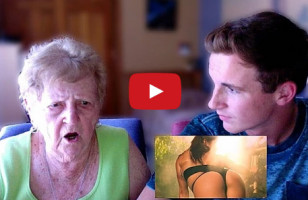 A Grandma Reacts To Nicki Manaj's Anaconda
