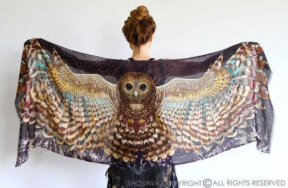 owl-wing-printed-scarf-2