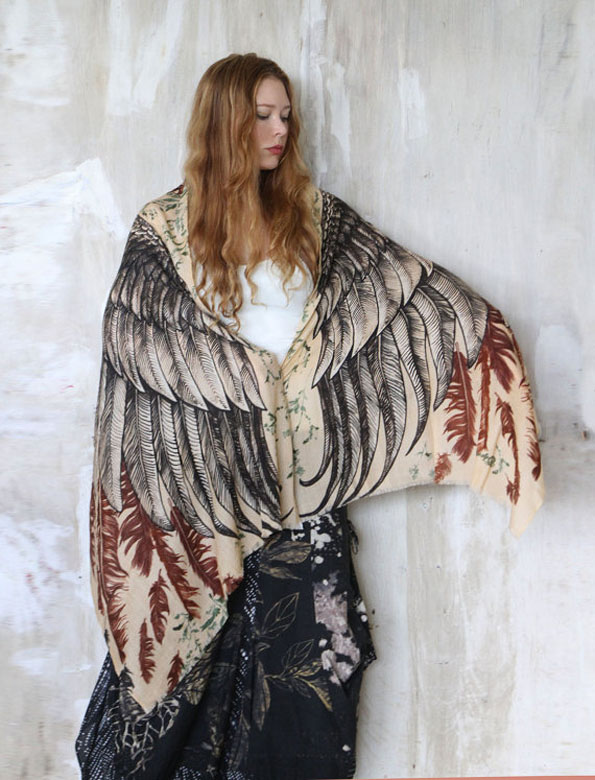 owl-wing-printed-scarf-4