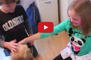 Parents Surprise Kids With A Puppy, Their Reaction Is Heartwarming