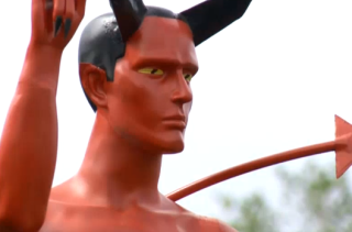 A Bonerlicious Satan Statue Pops Up In Vancouver