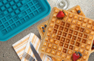 Pixel Lets You Customize The Pixels In Your Waffles!