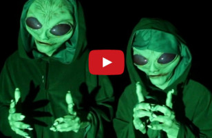 You Gotta See This Hilariously Evil Alien Invasion Prank