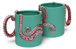 Drinking Coffee Just Got More Tentacle-y With The Octopus Mug