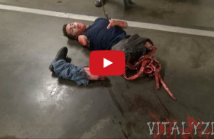 This Chainsaw Massacre Prank Is Absolutely Terrifying/Hilarious