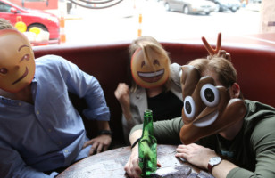 Emoji Masks Make The Easiest Halloween Costume Ever*