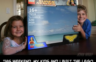 Check Out The LEGO Version Of Wonder Woman's Invisible Jet