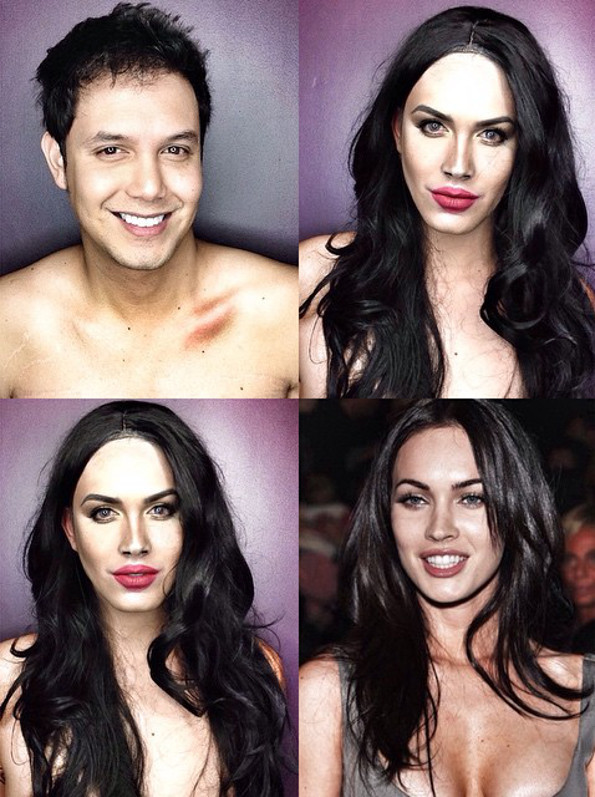 10 Incredible Celebrity Makeup Transformations | stuffffff ...