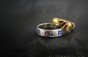 R2-D2 & C-3PO Wedding Rings, For You & The Droid Of Your Life