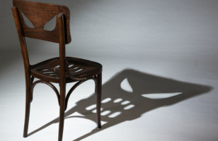 This Chair Casts A Shadow Making A Scary Face