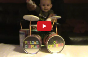This Baby Drumming To Pantera Is SO METAL And Cute