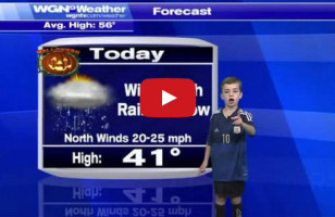 Watch This Hilarious Little Kid Deliver The Weather Forecast
