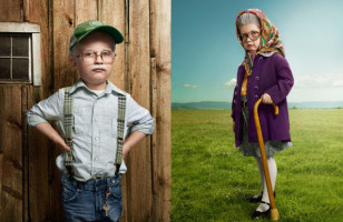 Little Kids Dressed As Old People Is Both Hilarious & Cute