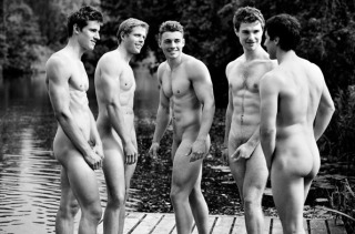 A Men's Rowing Team Made A Smexy Tastefully Nude Calendar
