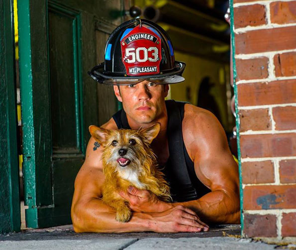 charleston-firefighters-with-puppies-calendar-1