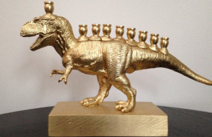 Menorasaurus Rex, The T-Rex Menorah