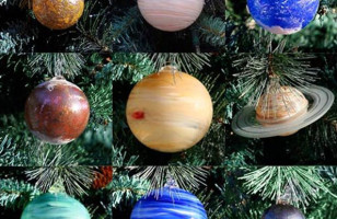 These Solar System Ornaments Are Absolutely Stellar