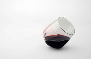 The Spill-Proof Wine Glass Is Perfect For The Sloppy Wino