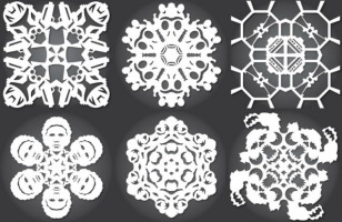 DIY Star Wars Paper Snowflakes Is The Perfect Holiday Craft