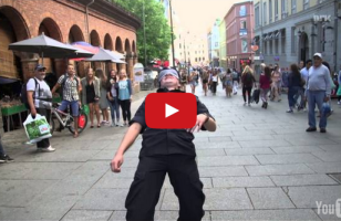 This Blindfolded Limbo Prank Will Make You LOL IRL
