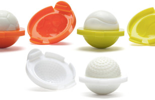 Molds To Make Eggs Shaped Like Golf, Tennis Or Soccer Balls