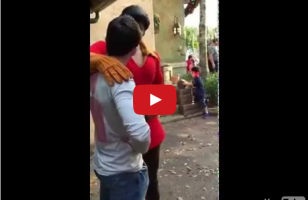 Man Challenges Gaston To Push Up Contest, Inevitably Loses