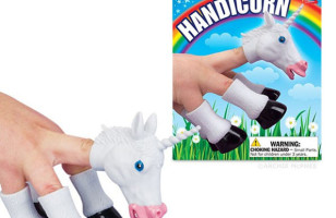 Handicorn: A Unicorn Finger Puppet, Because Why Not?