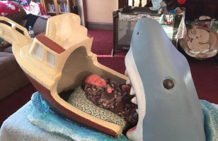 A Shark Bed For Baby Is Kinda Morbid, Totally Badass