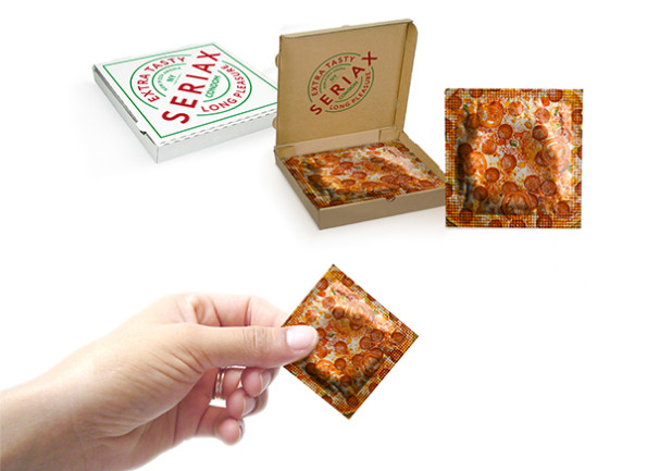 These Genius Pizza Condoms Come In A Little Pizza Box Incredible