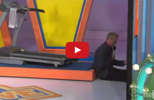 You Can't Not Laugh At 'The Price Is Right' Treadmill Fail