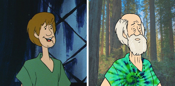 What does the cast of scooby doo look like today - Sammy scooby doo ...