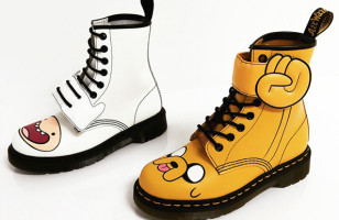 Totally Mathematical Adventure Time Themed Doc Martens