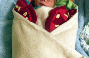 Keep Your Baby Cozy & Delicious With This Burrito Blanket