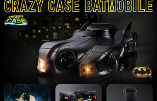 Holy Insanely Elaborate Batmobile Phone Case, Batman!