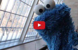 Enjoy Some Deep Thoughts With Cookie Monster